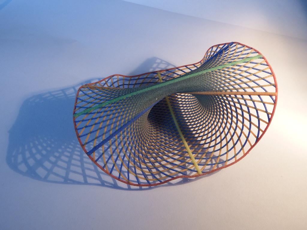 A part of an infinite Dupin Cyclide -- 3D Print