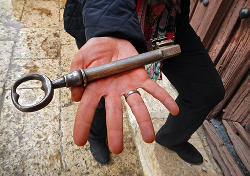 Locking Up a Church in Spain with The Big Key
