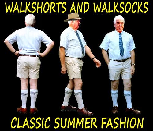 Walk shorts And Walk Socks For Summer V1.2