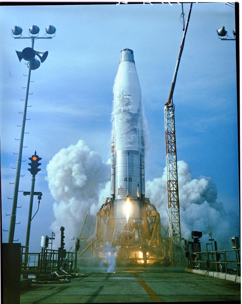 launch of Atlas 4B,--'Master Inter  Neg  | PictionID:4097443