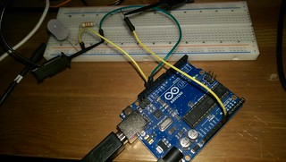 Arduino connected to Saleae Logic | by tero.koskinen