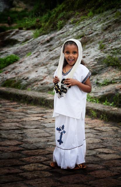 Sweet smile, Lalibela-Ethiopia