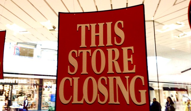 Going Out of Business Store Signs