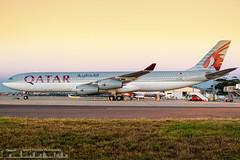 A7-AAH Qatar Amiri Flight AIrbus A340-313
