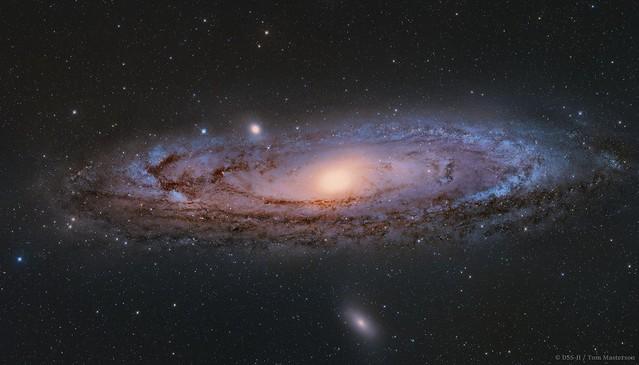 Andromeda Galaxy M31 DSS-II