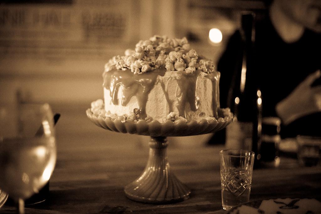 caramel cake, thanksgiving