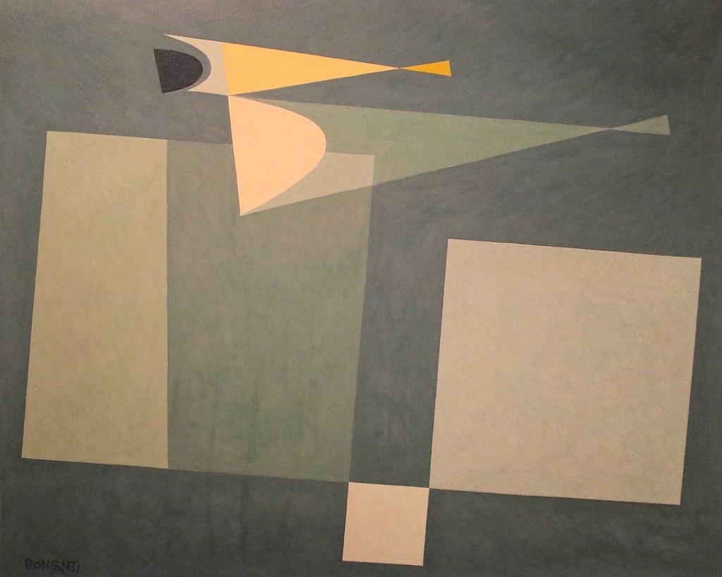 IMG_9012 Arturo Bonfanti.  1905-1978. Compozitione ingenua. 1959
