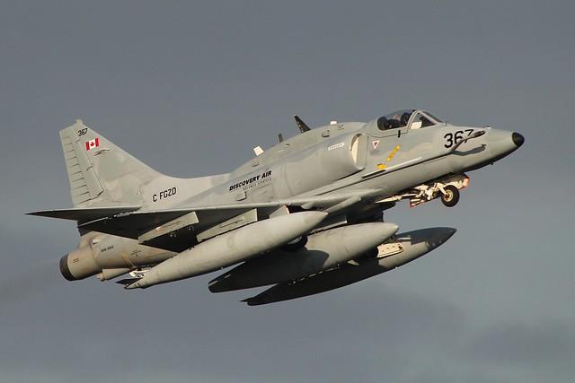 Douglas A-4N Skyhawk - C-FGZD