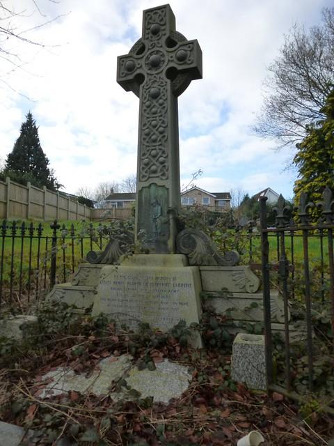 Grave of Lionel Henry Planta de Hochepied Larpent