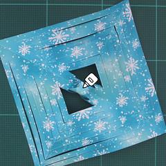 วิธีทำดาวกระดาษรุปเกล็ดหิมะ สำหรับแต่งบ้าน ช่วงเทศกาลต่างๆ (Paper Snowflake DIY) 010
