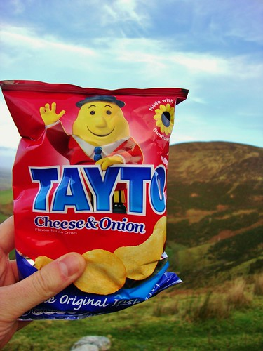 Tayto crisps, Claragh Mountain | by Alex J Donohue