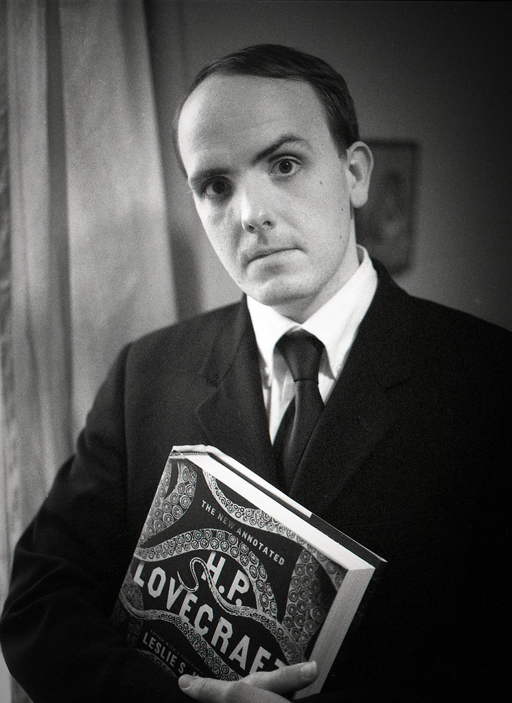 Leeman Kessler as HP Lovecraft