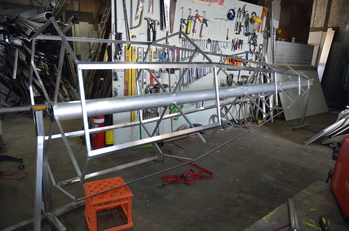 Nose Cone Fabrication - V2 Build Day 23rd May, 2014 | by Sascha Grant