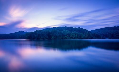 raccooncreekstatepark raccoonlake sunset pennsylvania pittsburgh lake longexposure leefilters thebigstopper