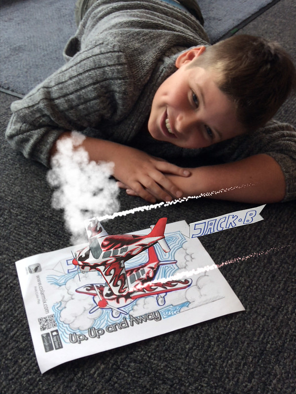 Jack enjoys DigiFun at Upper Riccarton Library