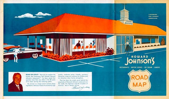 Howard Johnson's Road Map cover