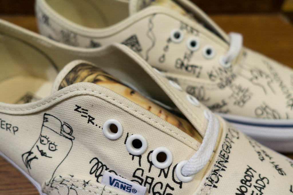 "de0ec9c2a8 ... Jason Dill x Vans Syndicate OG Authentic ""S"" - a closer look"