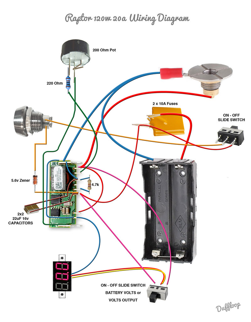 Raptor 120w Wiring Diagram - All Diagram Schematics on