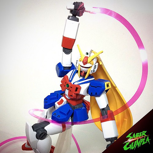 🎵🎵BISHOUJO NOBELL GUNDAM 🎵🎵  . . The GF13-050NSW Nobel Gundam (aka Noble Gundam in the English dub) is a Mobile Fighter for the nation of Neo-Sweden built for the 13th Gundam Fight. The unit is featured | by SABER GUNPLA