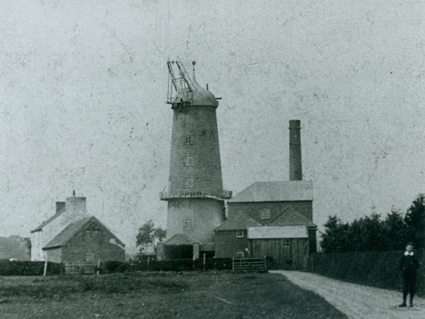 Walkington Windmill 1912 (archive ref PC43-112)