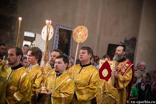 Литургия в Ильинском соборе 350