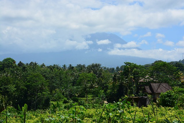 View on Gunung Agung from Sidemen (Bali, Indonesia 2016)