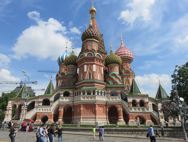 Saint Basil's Cathedral (Moscow, Russia)