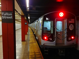 2017 Bombardier R179 Car 3102 on the (M) at Fulton Street | by BM5 via Woodhaven (Main)