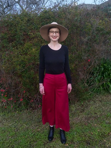 In the Folds Wide Leg Pants | by Chronically Siobhan