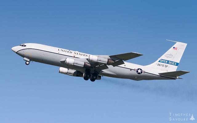 EVX | US Air Force Boeing OC-135B Open Skies