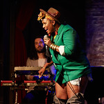 Mon, 09/07/2018 - 9:39pm - Deva Mahal and her band at City Winery in New York City, 7/9/18. Hosted by Rita Houston. Photo by Gus Philippas/WFUV