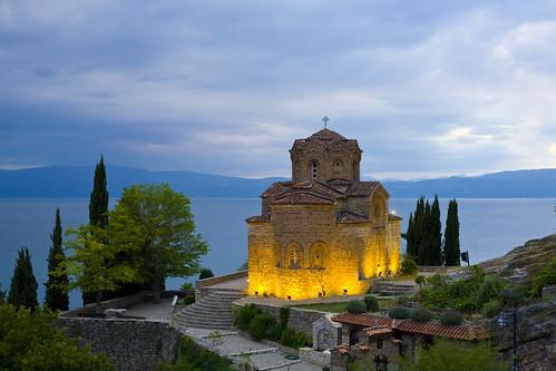 Church of St. John at Kaneo, Lake Ohrid