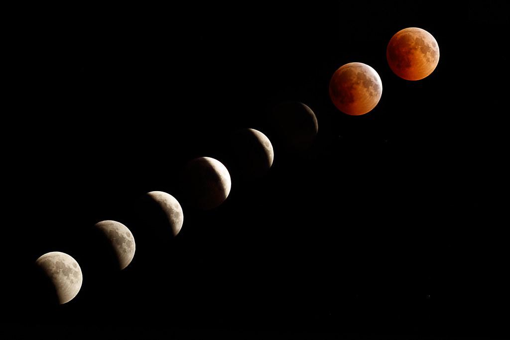 Lunar eclipse 27/7/18