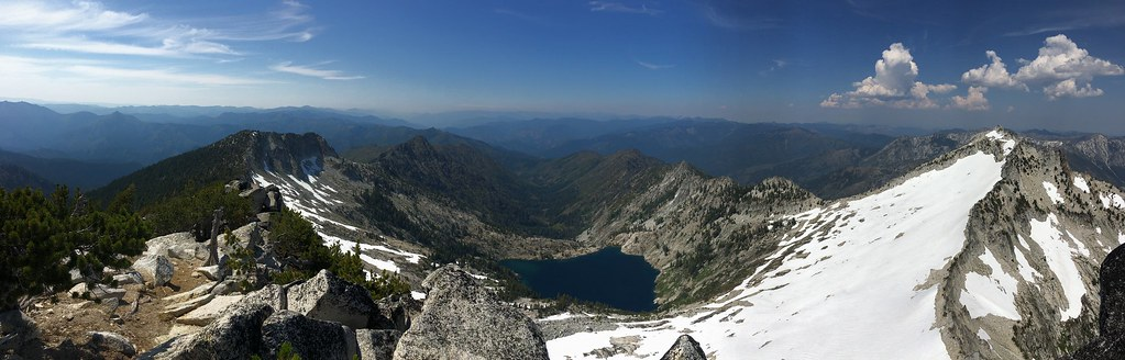 Florida Black Bear Pond from Mount Tommy-San