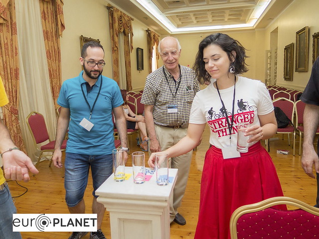 Europlanet Outreach Workshop, Athens, 2018