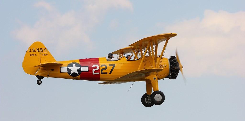 Stearman & The Happy Flyer | The Stearman (Boeing) Model 75 … | Flickr
