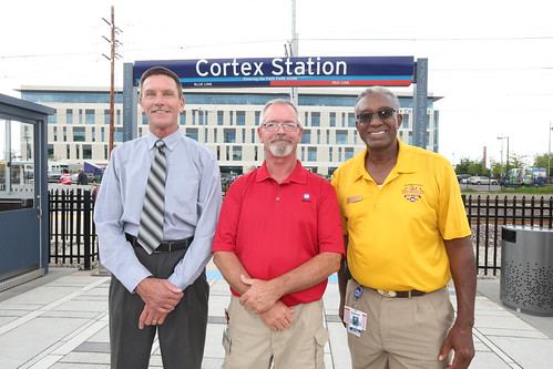 Cortex MetroLink Station, Chouteau Greenway Grand Opening | by Bi-State Development