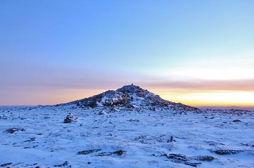 new sunrise ball december view peak nh hampshire dec 2014 crag homestretch