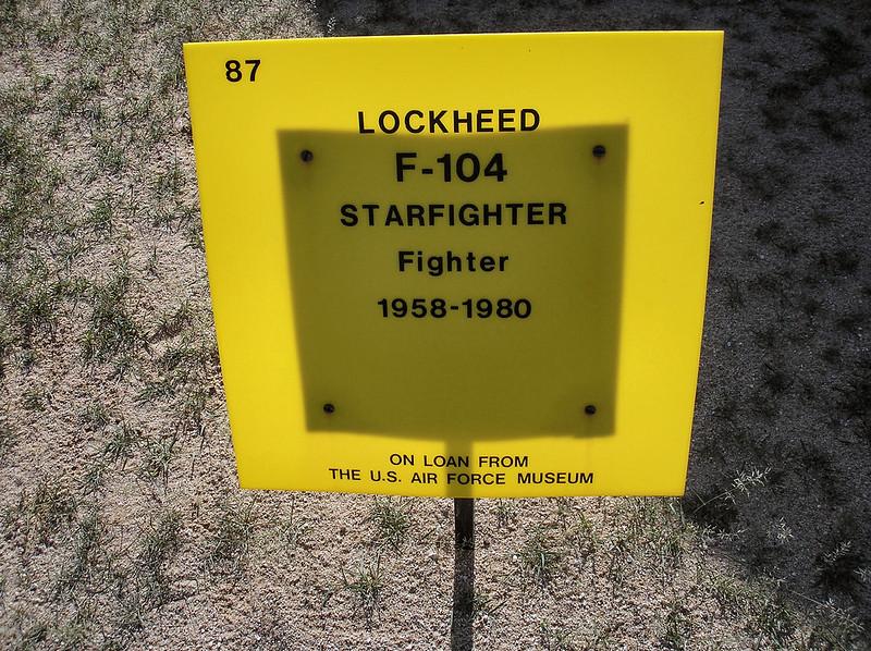 F-104 nejvíce Starfighter 1