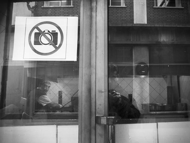 Forbidden to take photos