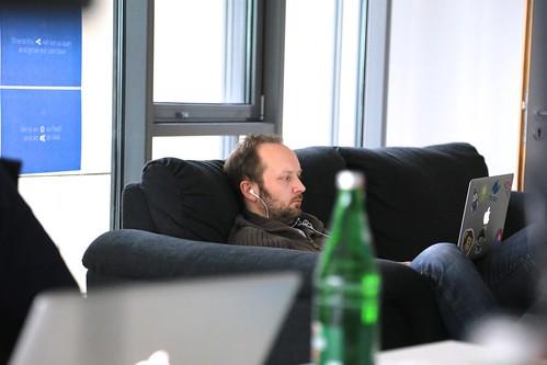 Matthias in couch potatoe mode