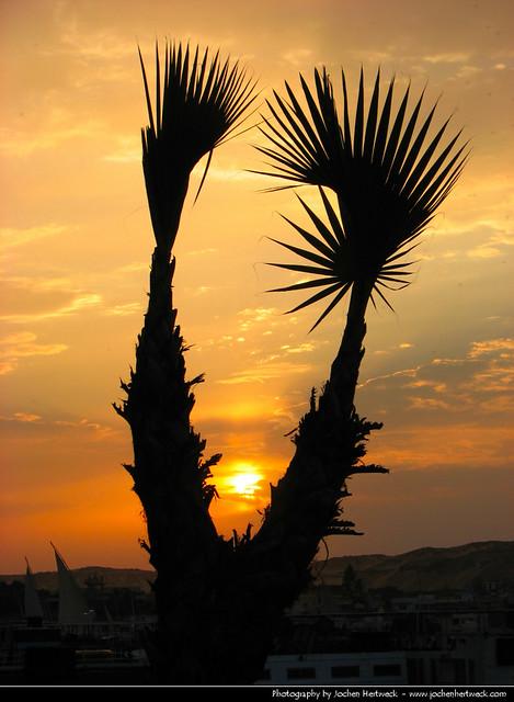 Sunset, Aswan, Egypt