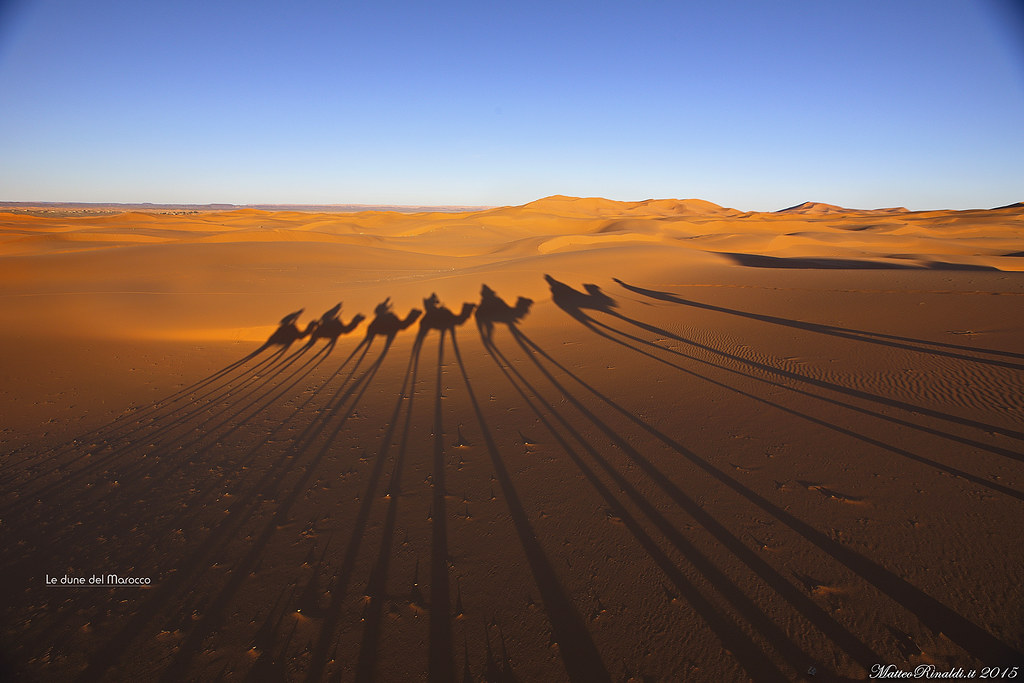 A spasso nel deserto del Marocco (Merzouga)