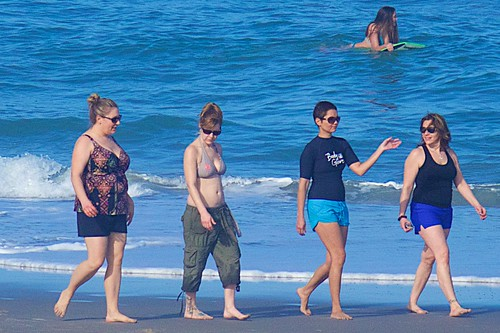ocean friends beach florida bathingsuit indialantic