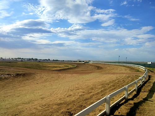 rodeo gillette wyoming horse track camplex nhsra finals stock landscape outdoors sky highschool park sports lgg3