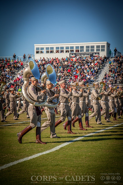 Texas A&M Corps of Cadets Game Day Alabama 2016