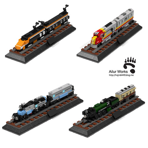miniature train collection