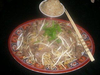 B30 Beef with Bean Sprouts (2)   by Golden Gate Chinese Restaurant