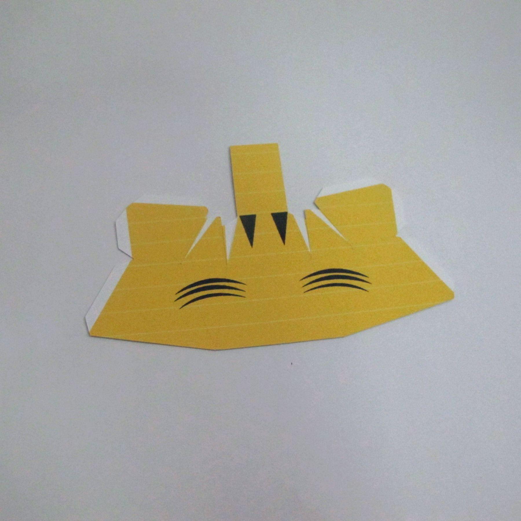 วิธีทำของเล่นโมเดลกระดาษ วูฟเวอรีน (Chibi Wolverine Papercraft Model) 023