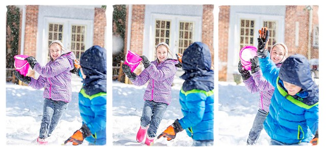 Sibling Snow Day...